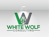 White Wolf Consulting (optional LLC) Logo - Entry #386