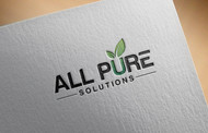 ALL PURE SOLUTIONS Logo - Entry #18