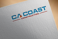 CA Coast Construction Logo - Entry #132
