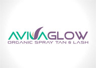 AVIVA Glow - Organic Spray Tan & Lash Logo - Entry #118