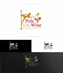 Pole in the Wine Country Retreat  Logo - Entry #4