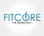 FitCore District Logo - Entry #62