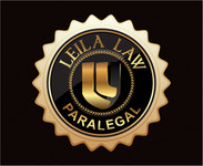 Leila Law Logo - Entry #52