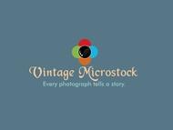 Vintage Microstock Logo - Entry #26