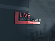 LiveDream Apparel Logo - Entry #147