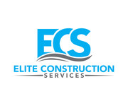 Elite Construction Services or ECS Logo - Entry #143