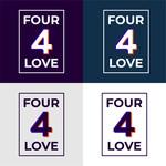 Four love Logo - Entry #297