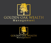 Golden Oak Wealth Management Logo - Entry #124