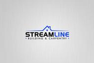 STREAMLINE building & carpentry Logo - Entry #159