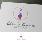ellie's essence candle co. Logo - Entry #86