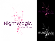 Night Magic Productions Logo - Entry #31