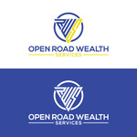 "Open Road Wealth Services, LLC  (The ""LLC"" can be dropped for design purposes.) Logo - Entry #17"