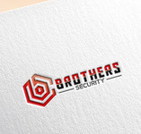 Brothers Security Logo - Entry #165