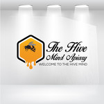 The Hive Mind Apiary Logo - Entry #145