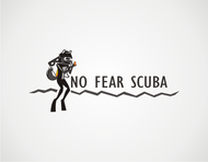 No Fear Scuba Logo - Entry #17