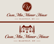 Casa Mia Manor House Logo - Entry #17