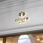 Allure Spa Nails Logo - Entry #16