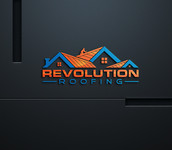 Revolution Roofing Logo - Entry #253