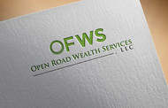 "Open Road Wealth Services, LLC  (The ""LLC"" can be dropped for design purposes.) Logo - Entry #32"