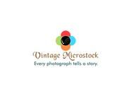 Vintage Microstock Logo - Entry #24