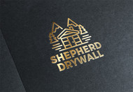 Shepherd Drywall Logo - Entry #145