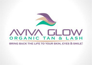 AVIVA Glow - Organic Spray Tan & Lash Logo - Entry #99