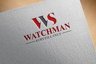 Watchman Surveillance Logo - Entry #179