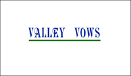 Valley Vows Logo - Entry #32