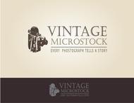 Vintage Microstock Logo - Entry #77