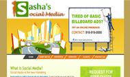 Sasha's Social Media Logo - Entry #175