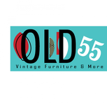 """""""OLD 55"""" - mid-century vintage furniture and wares store Logo - Entry #201"""