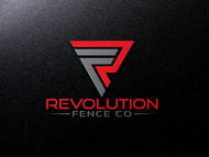 Revolution Fence Co. Logo - Entry #33