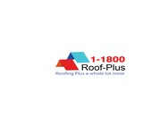 1-800-roof-plus  , i am also going to be using 1800roofplus.com for materials Logo - Entry #9