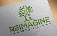 Reimagine Roofing Logo - Entry #148