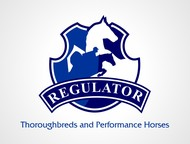 Regulator Thouroughbreds and Performance Horses  Logo - Entry #53