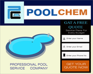 Pool Chem Logo - Entry #81