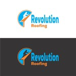 Revolution Roofing Logo - Entry #259