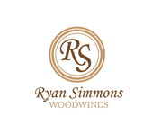 Woodwind repair business logo: R S Woodwinds, llc - Entry #22