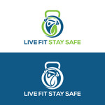 Live Fit Stay Safe Logo - Entry #19
