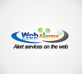 Logo for WebAlarms - Alert services on the web - Entry #31