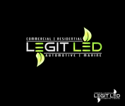 Legit LED or Legit Lighting Logo - Entry #177