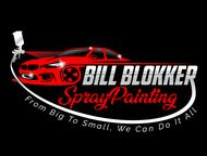 Bill Blokker Spraypainting Logo - Entry #3