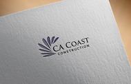 CA Coast Construction Logo - Entry #190