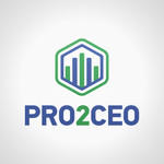 PRO2CEO Personal/Professional Development Company  Logo - Entry #115