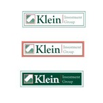 Klein Investment Group Logo - Entry #170