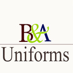 B&A Uniforms Logo - Entry #47