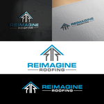 Reimagine Roofing Logo - Entry #297