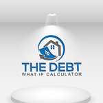 The Debt What If Calculator Logo - Entry #128