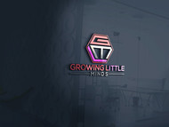 Growing Little Minds Early Learning Center or Growing Little Minds Logo - Entry #64
