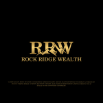 Rock Ridge Wealth Logo - Entry #469